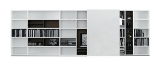 Poliform | Bookcases | Wall System
